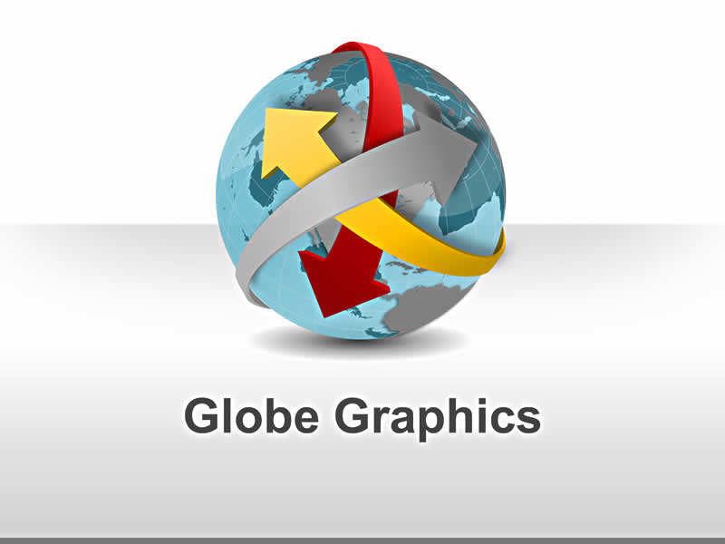 Globe Graphics - Visual PowerPoint Illustration