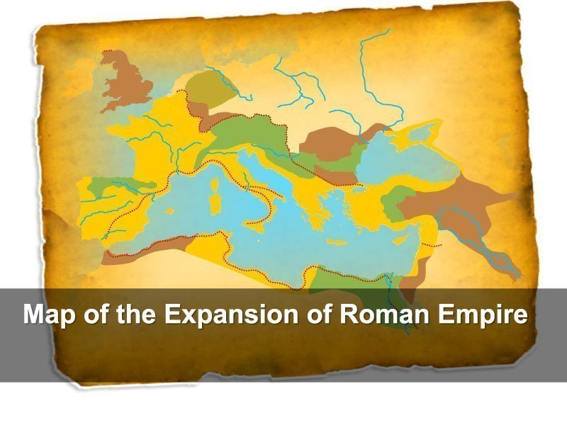PowerPoint Slides of Expansion of Roman Empire