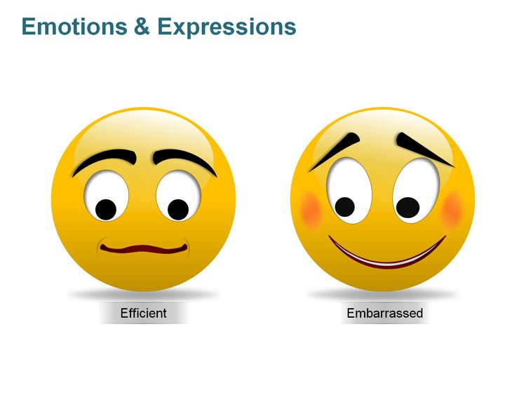 Smiley Face with Expressions PPT