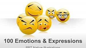 Emotions and Expressions PPT Illustrations
