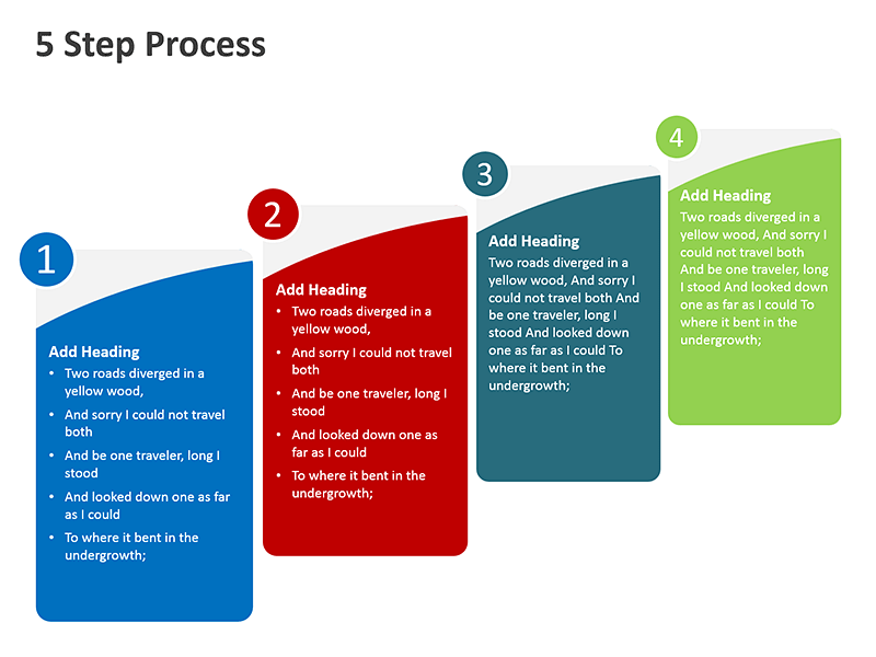 Business Workflow Diagram - PowerPoint Slide