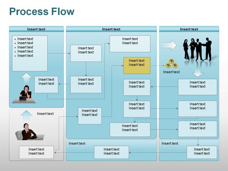 Process Flow Diagrams for PPT