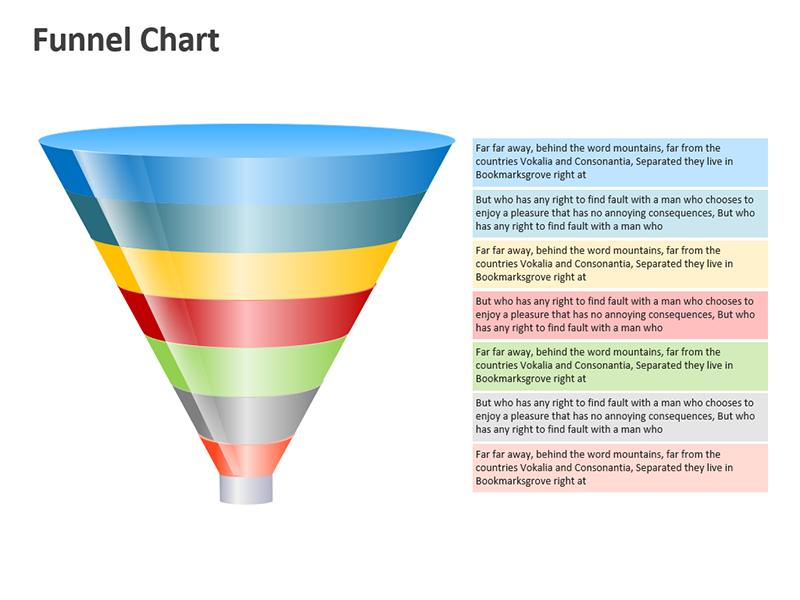 Sales Management Funnel  - Editable PowerPoint Slide
