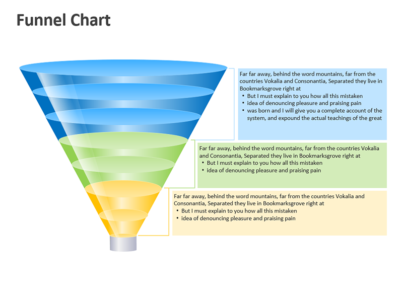 Business Funnel Diagram - PowerPoint Slide