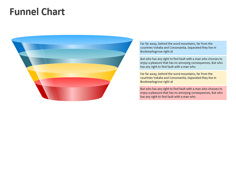 Sales Funnel - Editable PowerPoint Slide