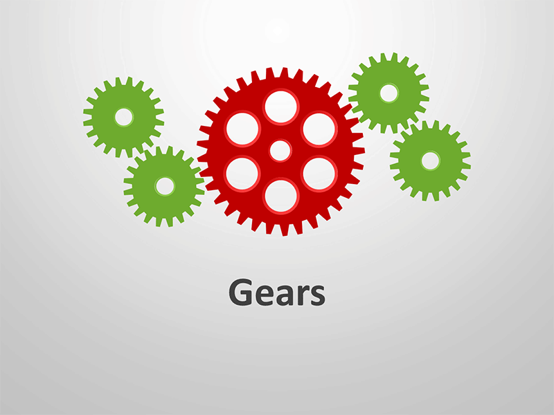 Gear Diagrams - Business PowerPoint Presentation