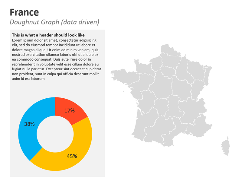 France PPT Map - Graphs