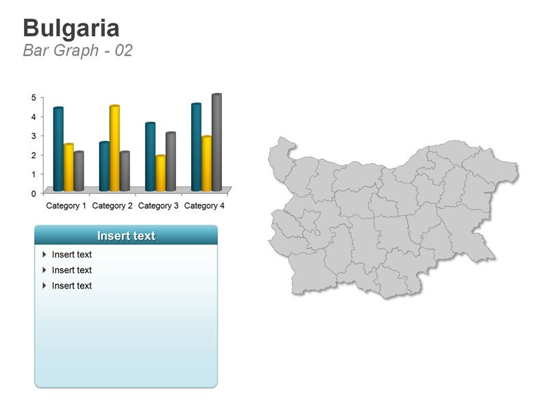 PPT Graphs of Bulgaria Map