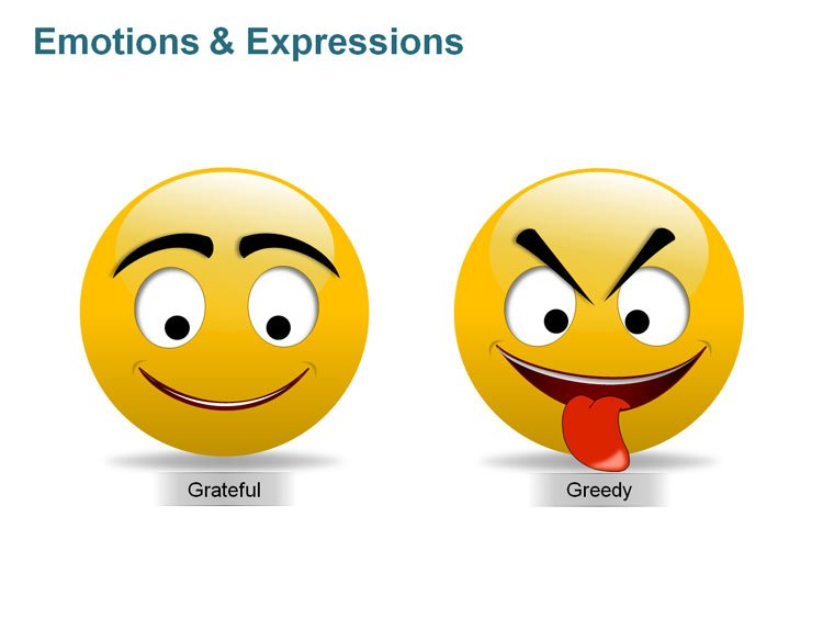 Editable Humourous Clipart for PPT