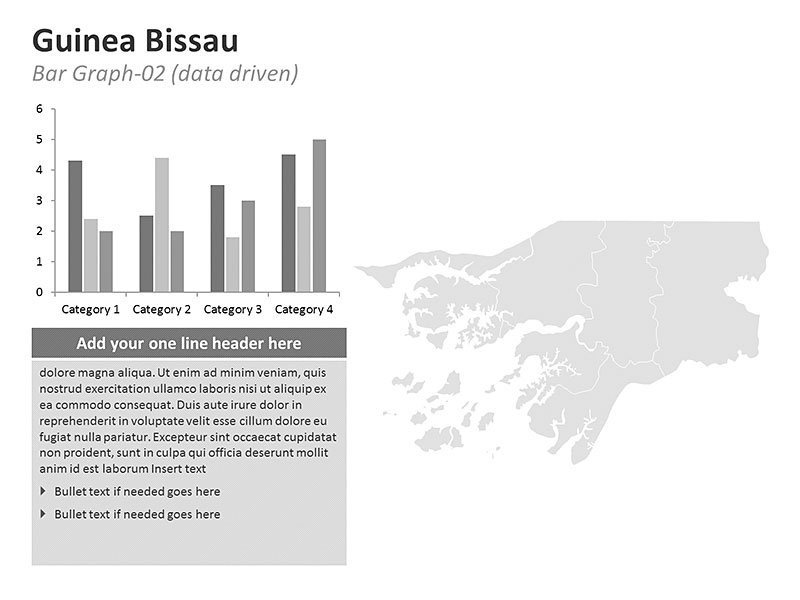 PPT Graphs Map Guinea Bissau Map