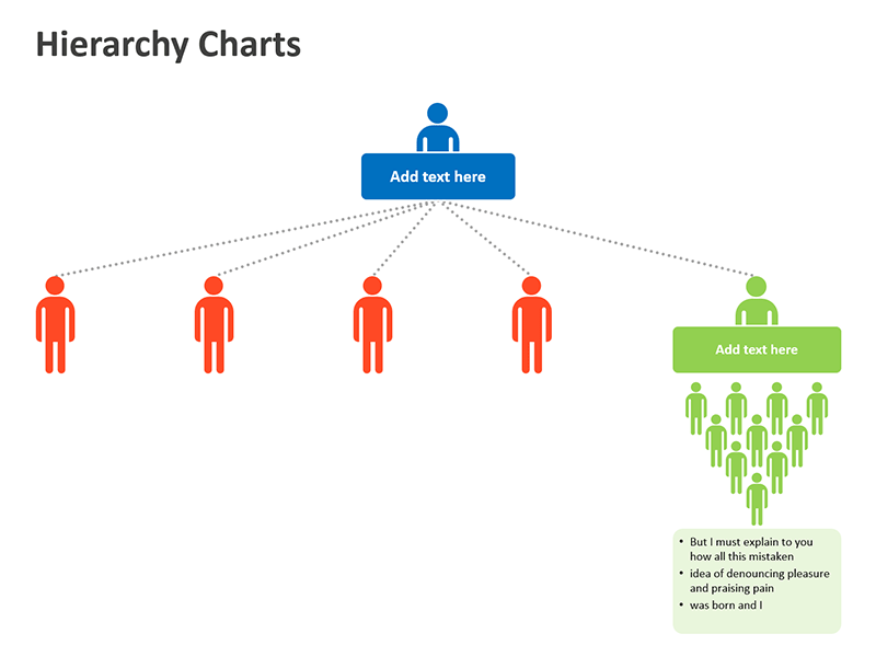 Business Hierarchy Charts - PowerPoint Slide