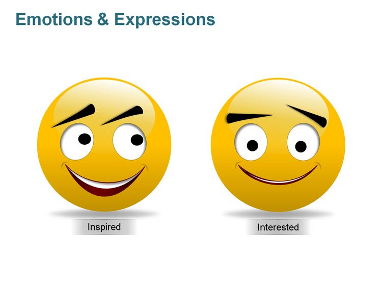 Clipart Images Emotions PowerPoint