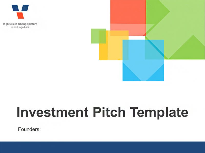 Investor Business Plan - Editable PowerPoint Template