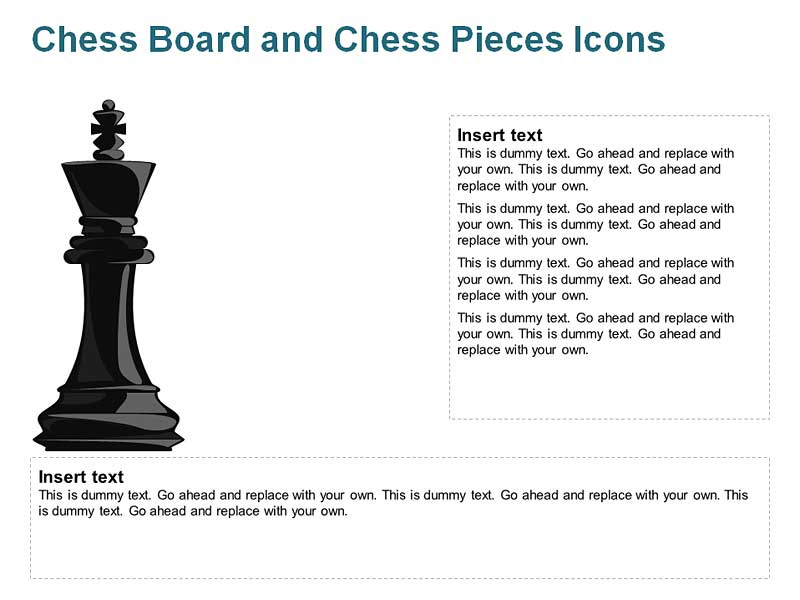 King Chess Pieces for PowerPoint