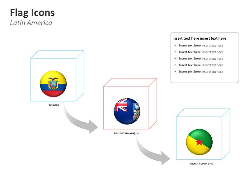 PPT Cliparts  Latin America Countries Map