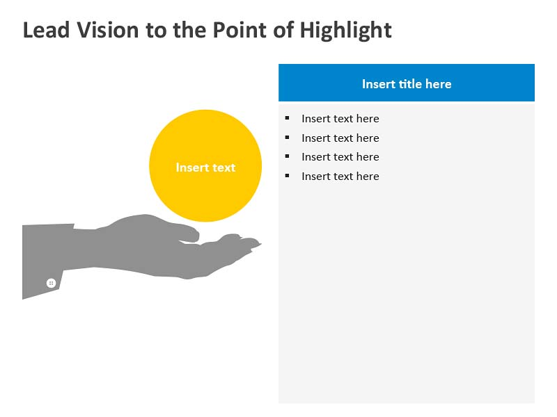 Vision Diagram - Editable PowerPoint Slides