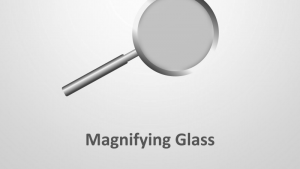 Magnifying Glass - Editable PowerPoint Presentation