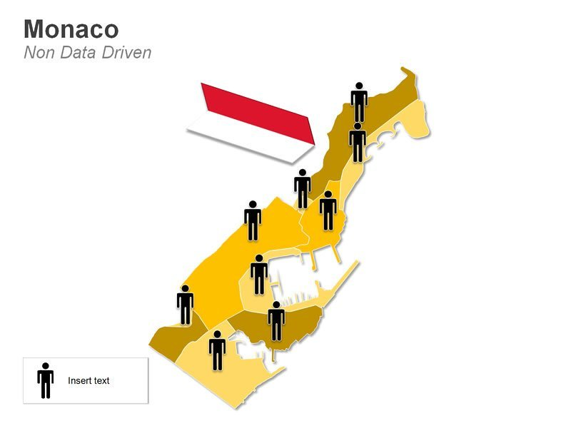 Demographic Map of Monaco PPT