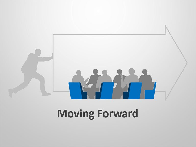 Move Forward - Editable PowerPoint Slides