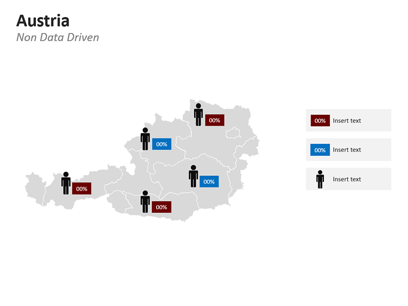 Austria Population Map PPT