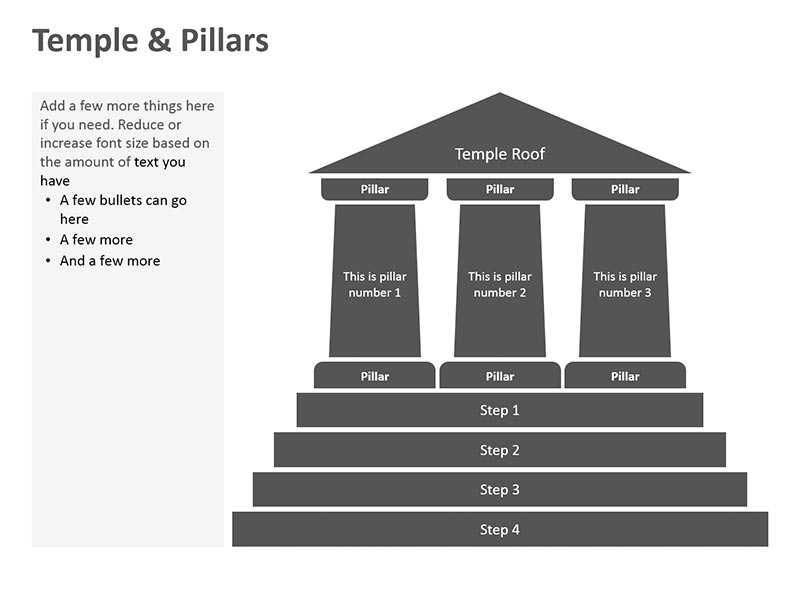 Temple Template PowerPoint