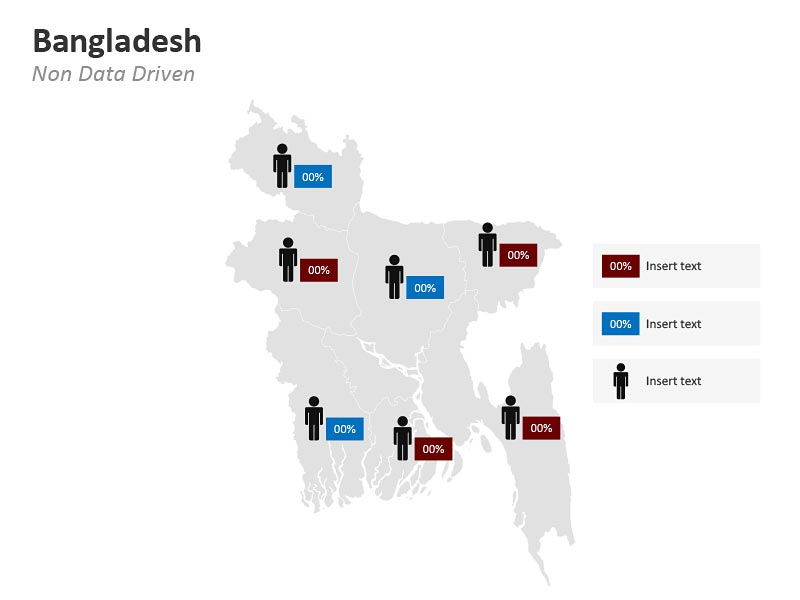 Bangladesh Demographic PowerPoint Map