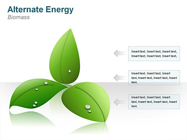 Biomass PowerPoint Illustrations