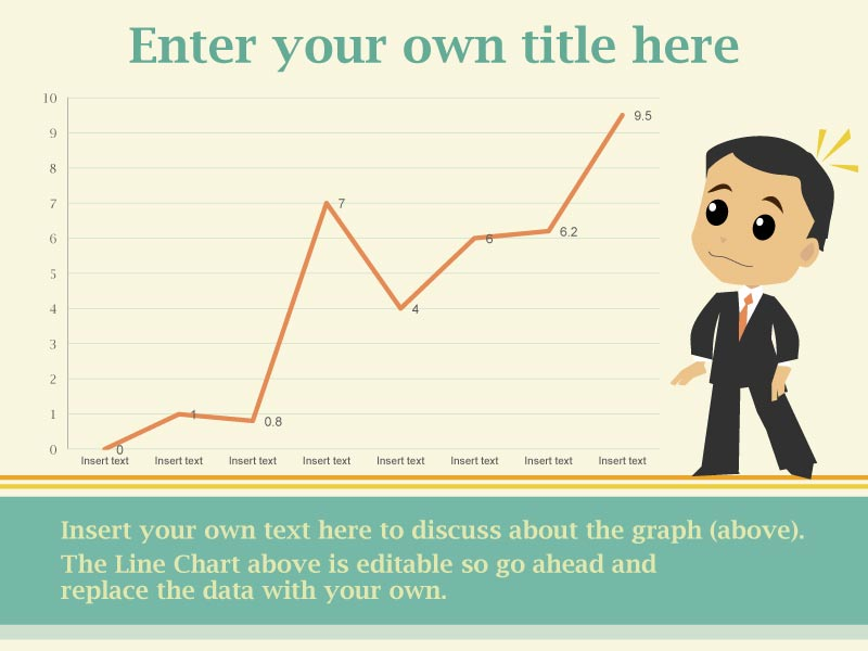PowerPoint Chart - Editable Infographic Template