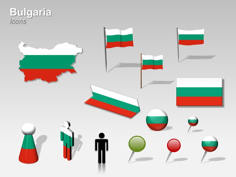Cliparts of Bulgaria Map PPT