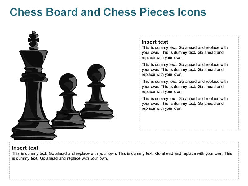 Chess Dashes for PowerPoint Slides