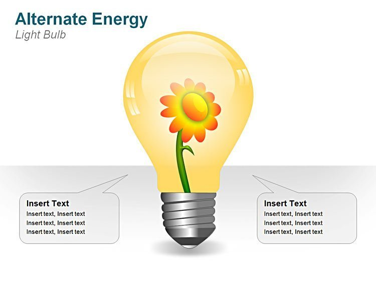 Light Bulb PPT Illustration