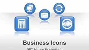 Editable PowerPoint Illustrations - Business Icons
