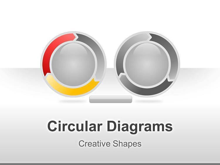 Editable PowerPoint of Circular Diagram