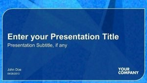 Sales Presentation Template - PowerPoint Slides