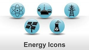 Editable PowerPoint Slides on Energy Icons