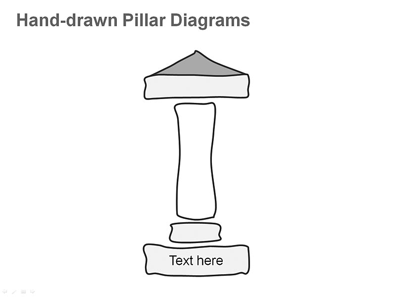 PPT Slide - Greek Pillar Diagram