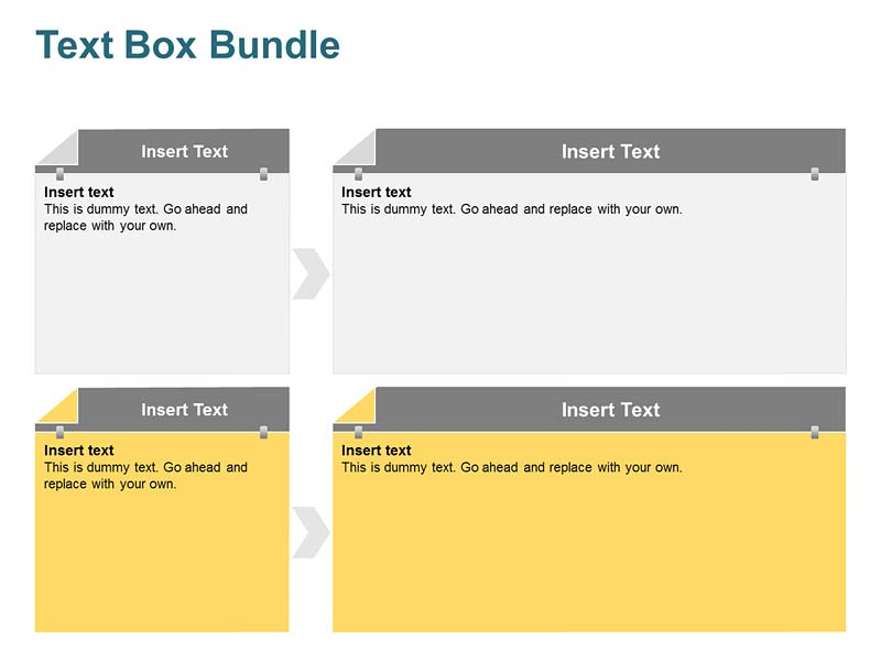 Text Box Layout PowerPoint Slide