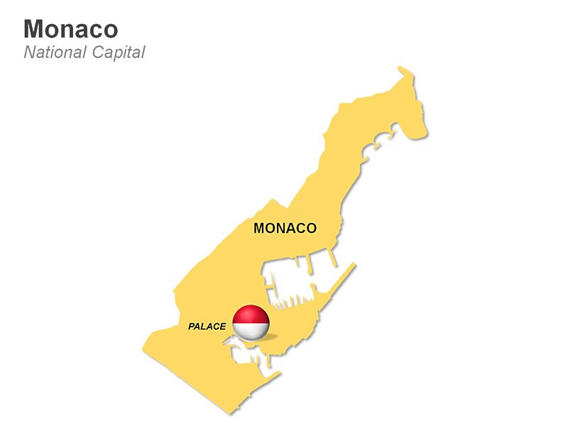 PowerPoint Slides - Monaco Map