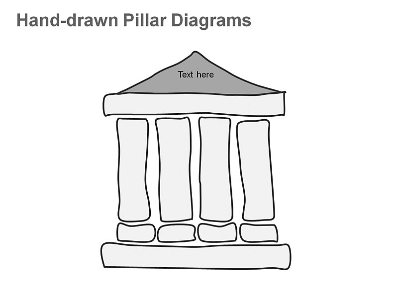 Pillar Diagrams - Business Concepts PPT