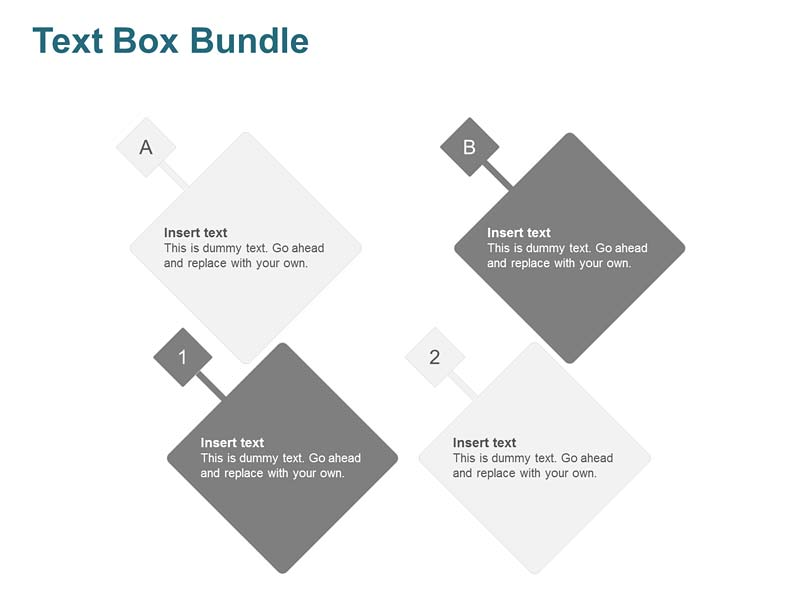 Text Box Bundle PowerPoint Slides