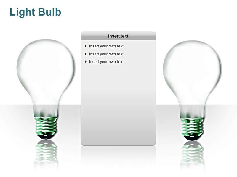 PowerPoint Presentation - Light Bulb images