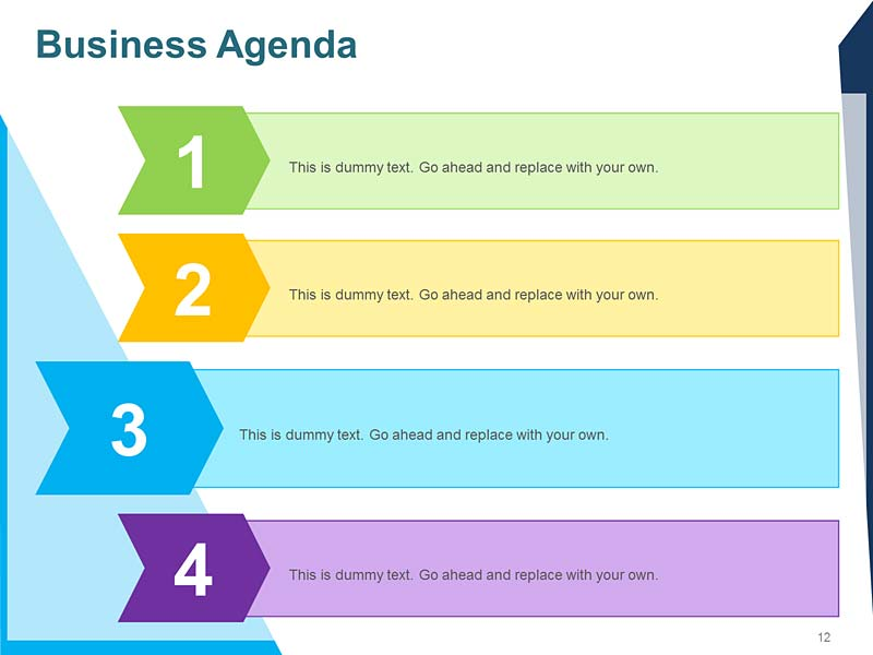 Sales Meeting Agenda PPT Template