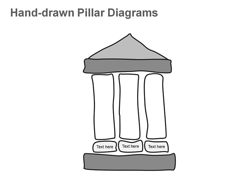 Three Pillar Vector Diagrams