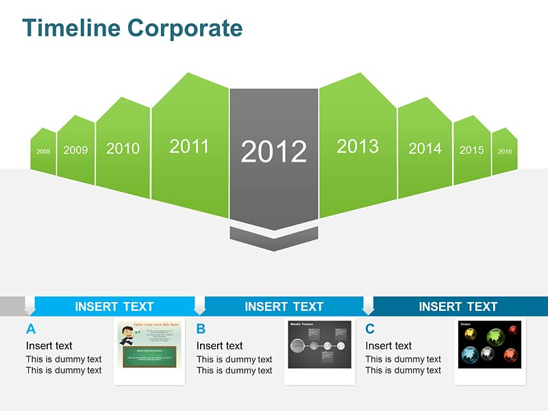Business Timeline Diagram PPT