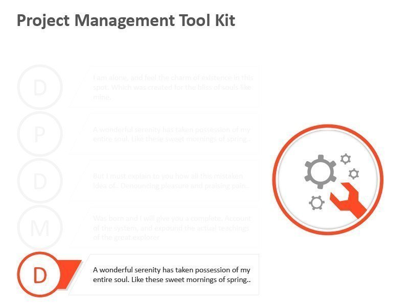 Activity Management Diagram - PowerPoint Slide