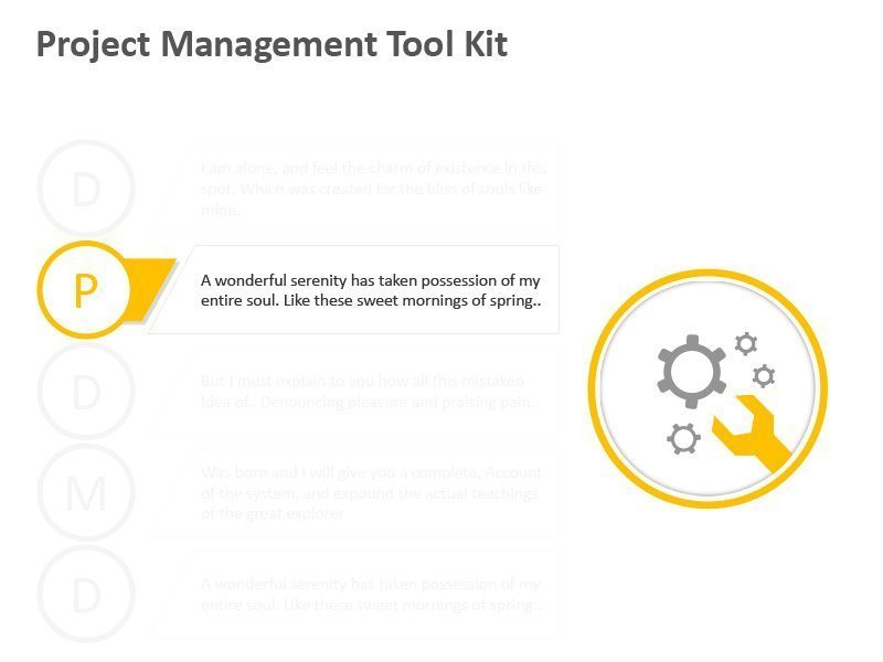 Project Management Tools Diagram - PowerPoint Slide
