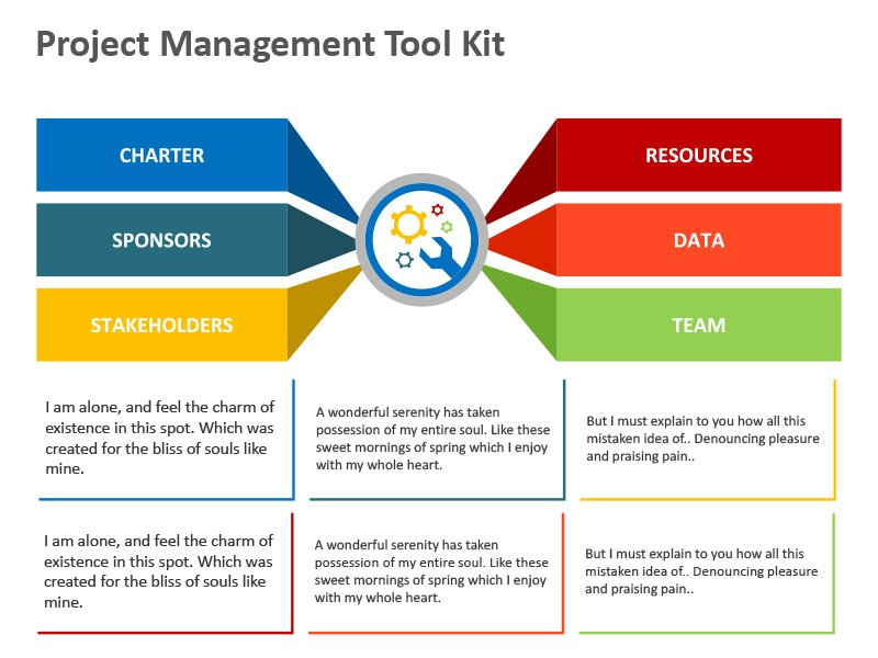 Business Tools Diagrams - Editable PPT Slide