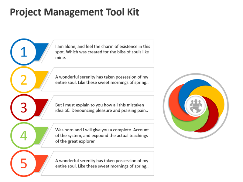 Project Management Tool - Editable PPT Presentation