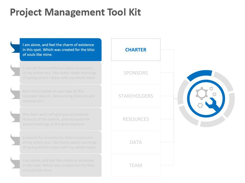 Management Project Tools - PowerPoint Slide