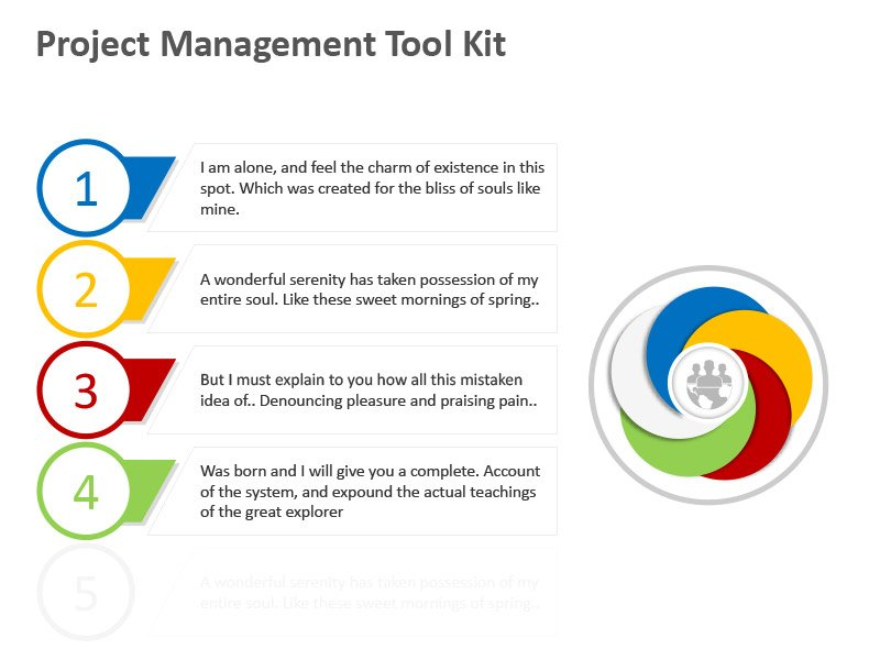 Steps Management Tools - PowerPoint Slide